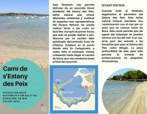 Itinerario Estany d'es Peix